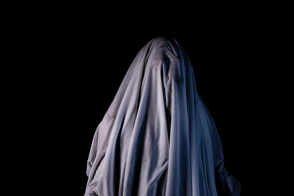 ghost under a sheet