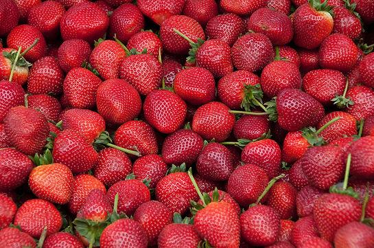 Strawberries, raw