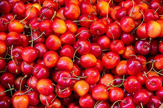 Cherries, sweet, raw