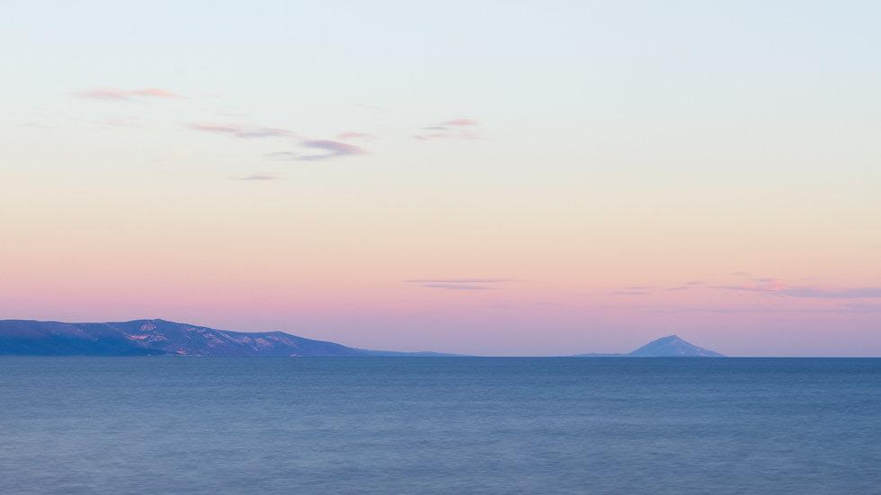 Meer in Betina, auf der Insel Murter in Kroatien. Apartment buchen