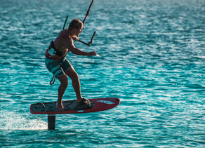 Who Checks Email When They Are Kitesurfing?