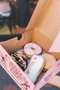Pink Doughtnut Boxes