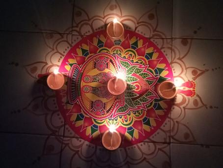 Diwali {fête des lumières} amène joie et gaieté dans nos coeurs