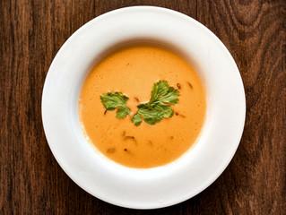 """""""Suppe tirsdag- suppe i sentrum"""". 07.09 Servering fra kl.12 -14"""