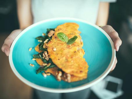 "Vegan ""Egg"" w/ Split Mung Beans | Moong Dal"