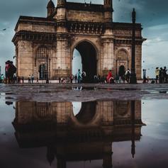 Mumbai gateway rain