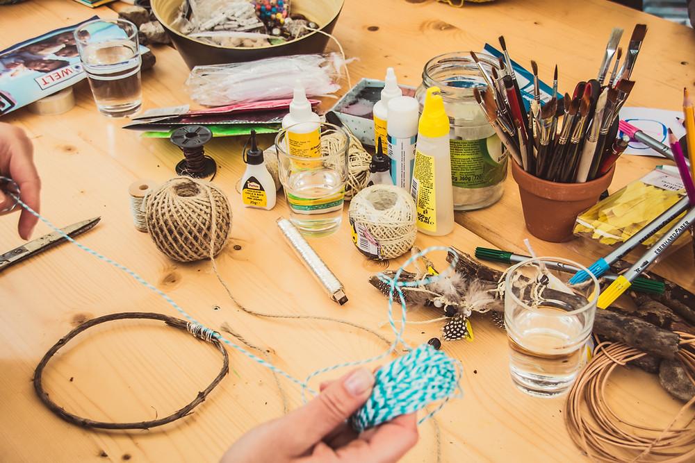 Hobby supplies can create polutants.