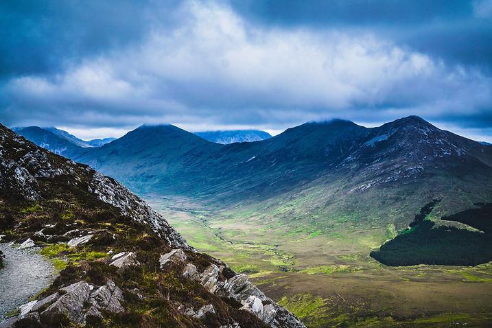 Dramatic landscape in County Kilkenny