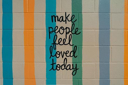 Make people feel loved today (Giving Getaway)