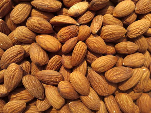Roasted almonds per 100g
