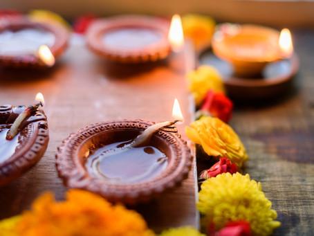 Diwali Festival of Lights Celebrations Friday 26th October 2019