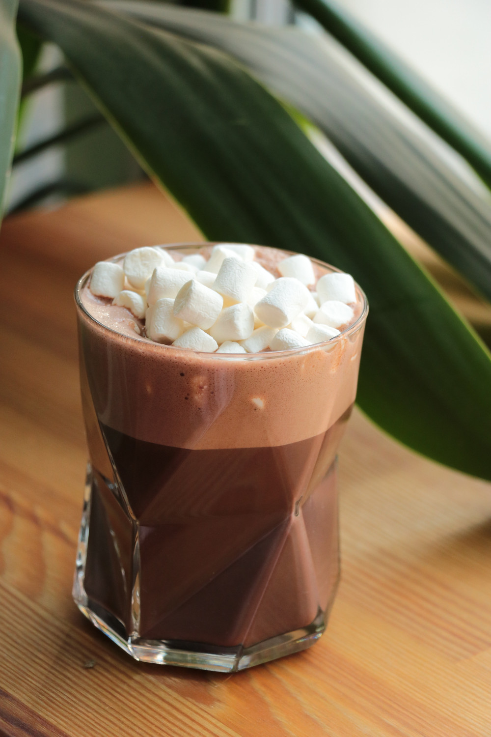 Hot chocolate and marshmallows, Christmas recipes