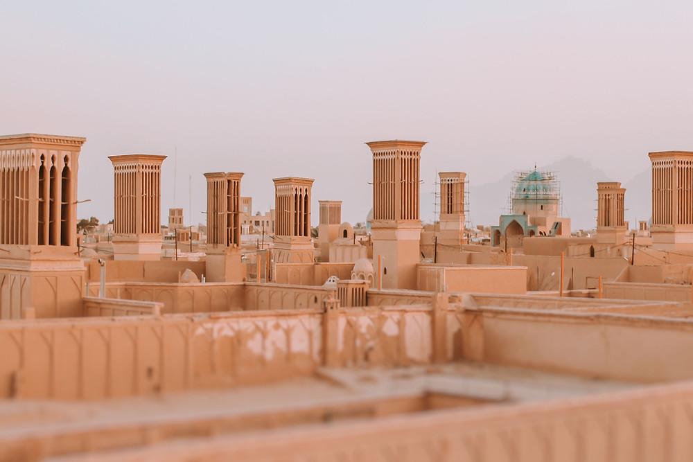 Vernacular Architecture - WINDCATCHER IRAN