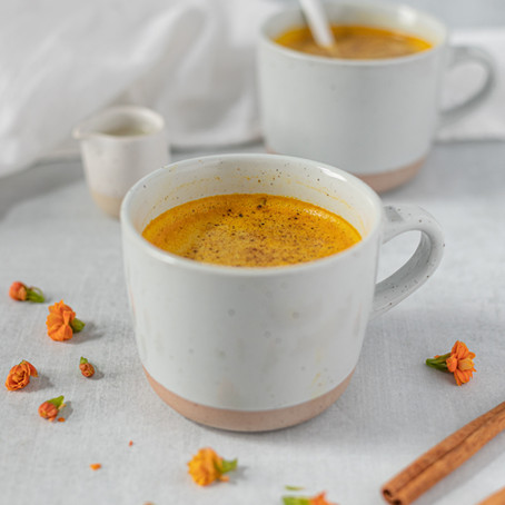 High Protein Turmeric Tea/Latte