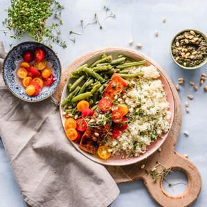 Easy Summer Salmon Grain Bowl