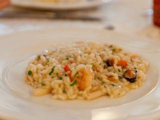 Chef Gianluca Deiana Abis: Risotto Alla Pescatora/ Seafood Risotto