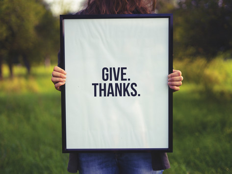 3 benefits of giving thanks on Thanksgiving