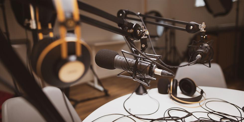 Masterclass: recursos para criação de podcasts