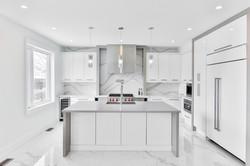 Küche in Weiss