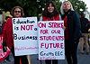 Teacheron strike