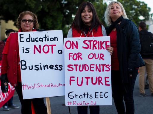Education Is Not A Business. When will they learn? The pun was intended.