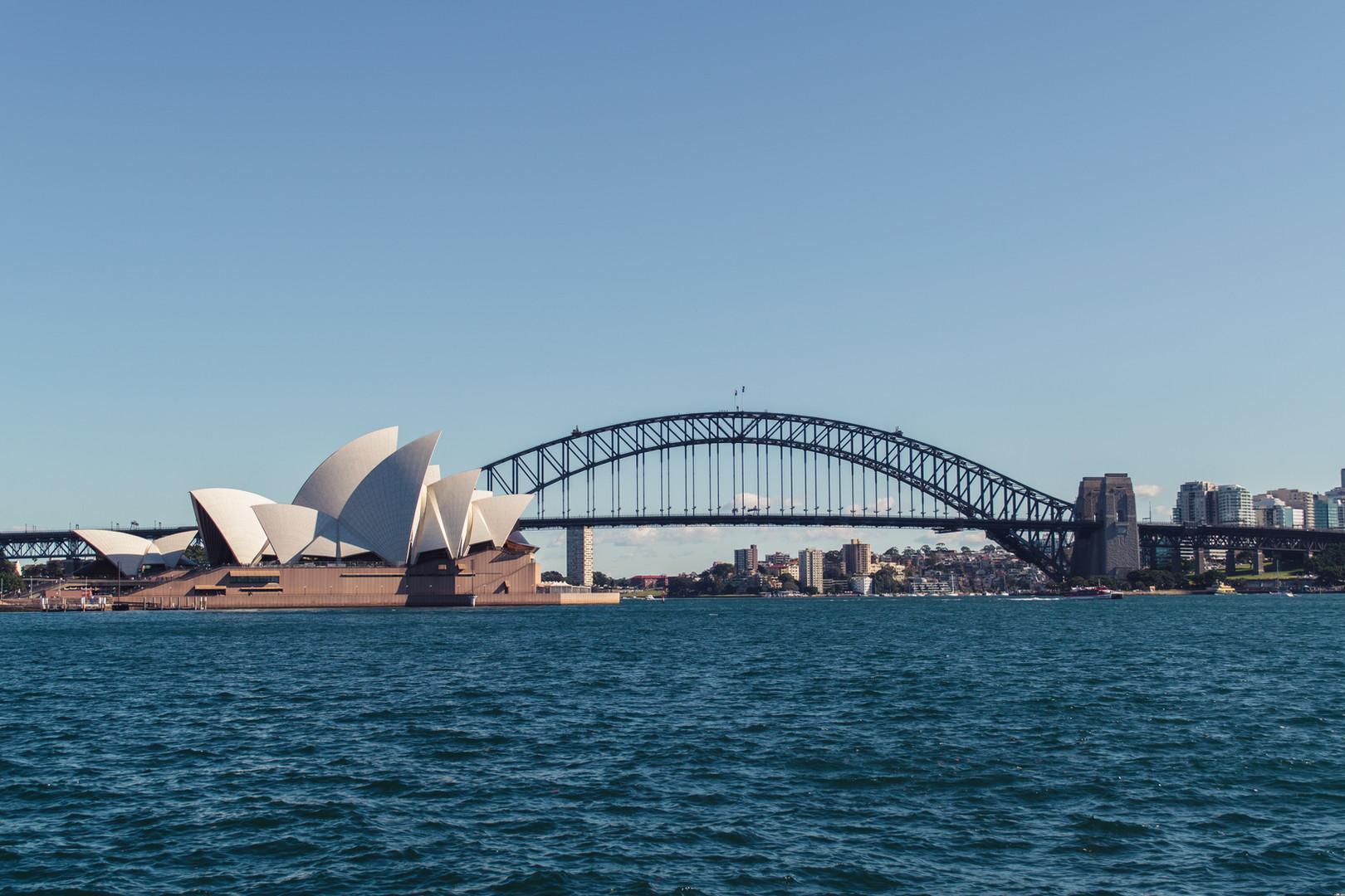 Sydney Opera-Bridge-Harbor