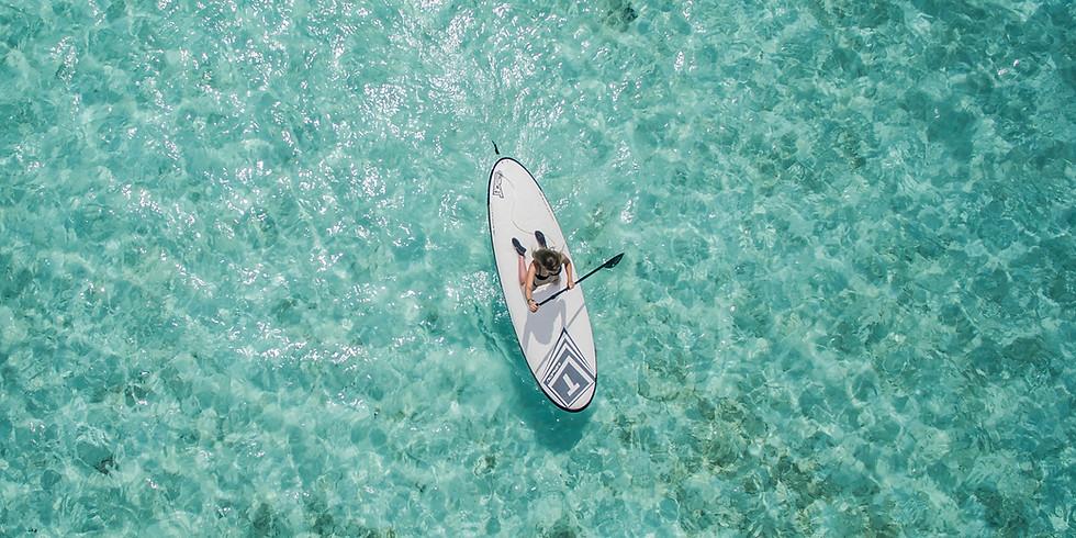 Beginner paddleboard lesson