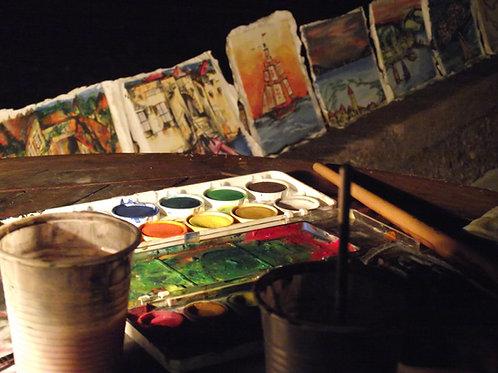 Jr. Tempera Painting