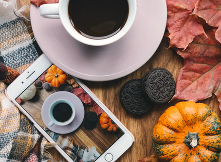 Autumn Inspired Instagram Prop Ideas (From a Newbie) | Blogtober Day Eleven, 2020