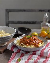 Thai style Spaghetti Bolognese M