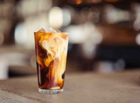 Summer coffee drinks