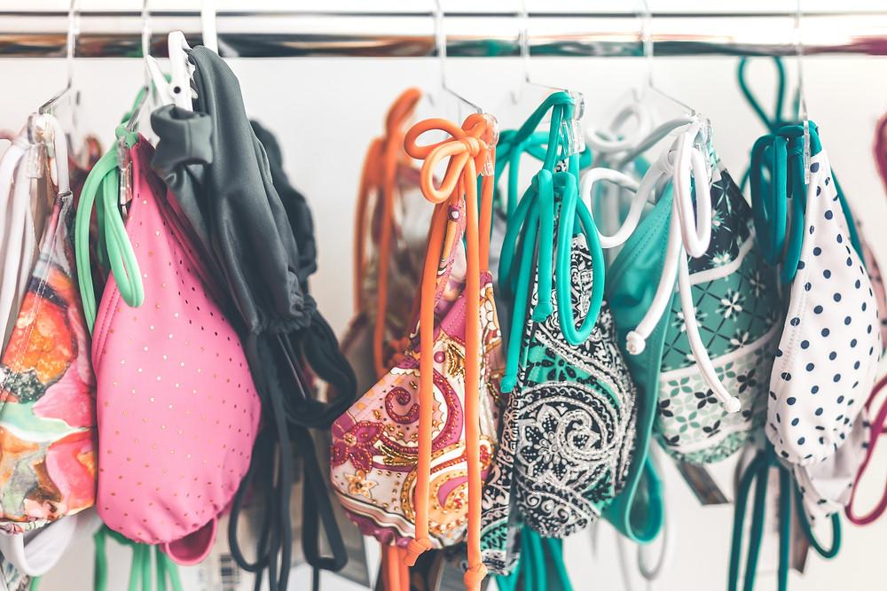 CLOTHING MANUFACTURERS UK BLACK BIKINI
