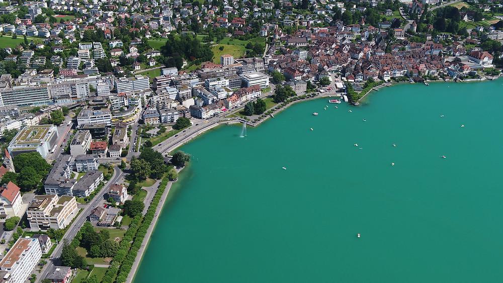 Stadt Zug, Krypto-Valley, Finanzblog, Finanz-Uhu, Schweiz, Investment