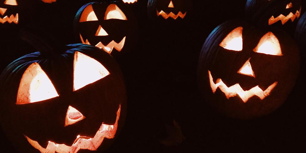 Höstlovskurs i Halloween-campet