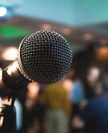 Microphone, Speaking engagements