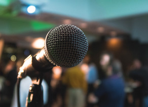 Webinar: From Stage Fright to Stage Presence