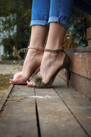 chaussures who chic fourrure