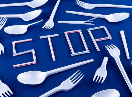 Prohibición de plásticos de un solo uso para el 2021