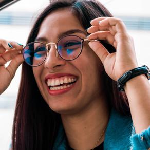 Freude an der Brille