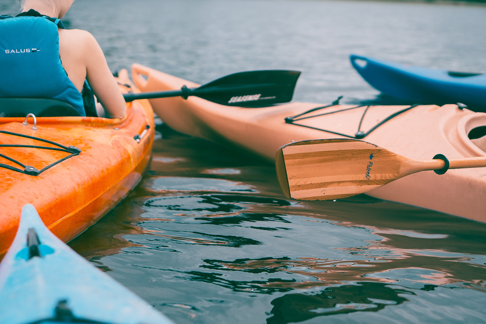 summer vacation, kayaking, kawartha lakes, bobcaygeon