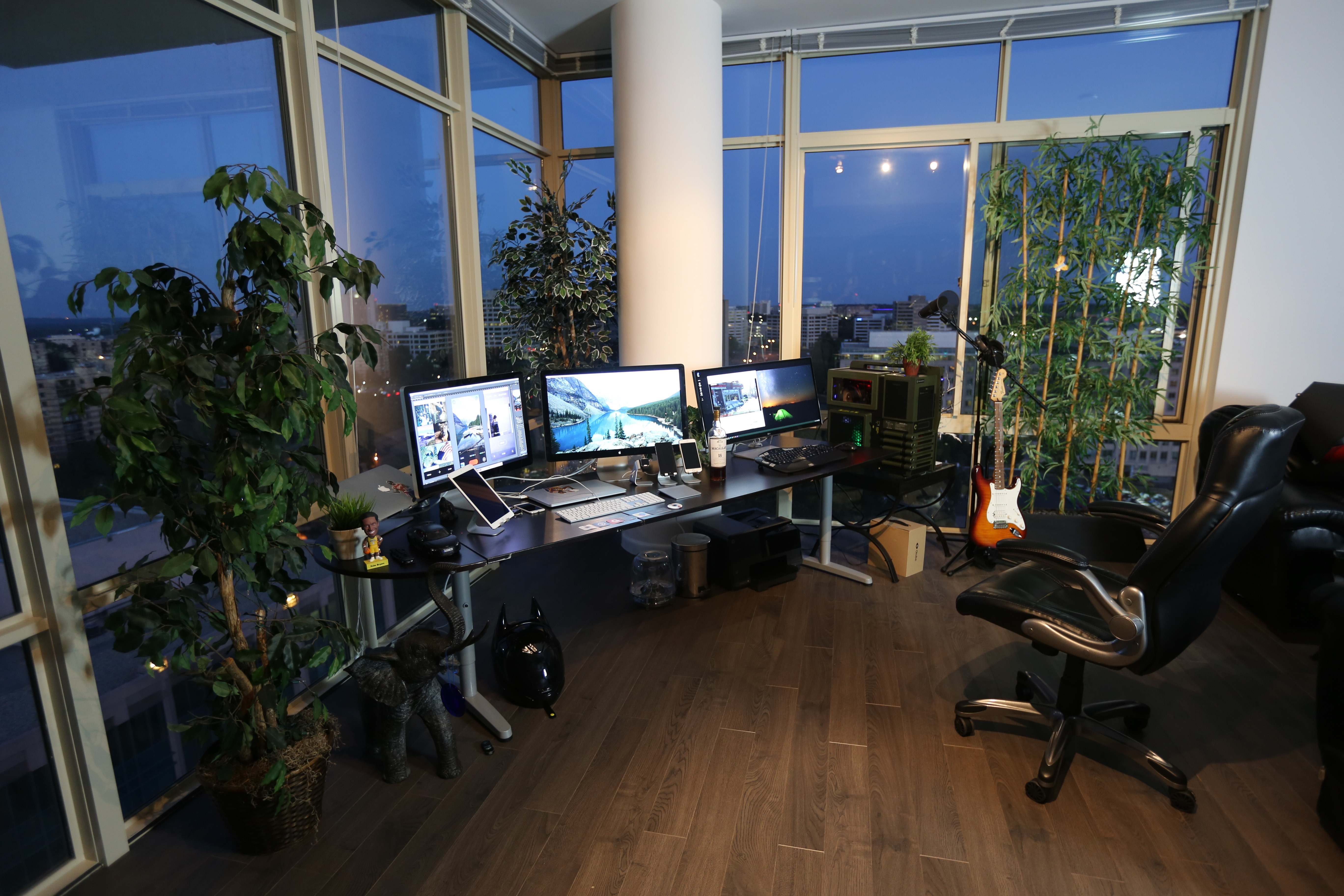 Audio Video System & Home Office Setup