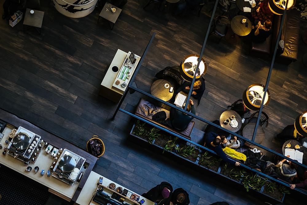 Slip Resistant Restaurant Floor