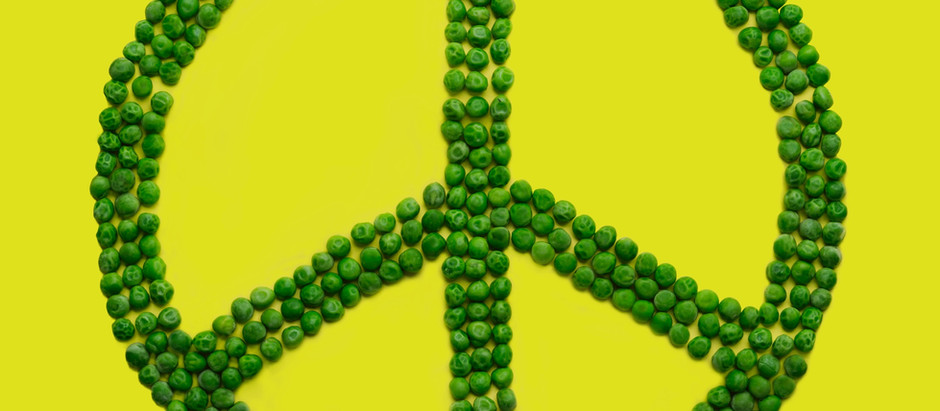 Peas: The vegetarian Happiness