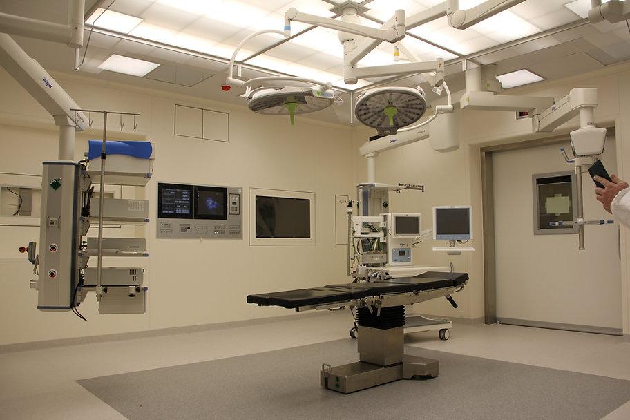 sala de cirurgia em hospital