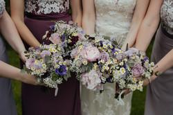 Ramos de flores para damas de boda