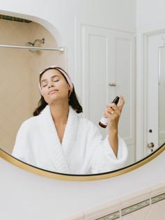 facial skin care spray