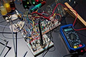 Steinerfilm Electronics Technician - Image by Nicolas Thomas
