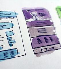 Sketching designs   Image by Halacious