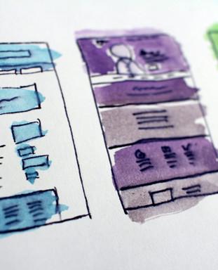 Website Paper Prototyping