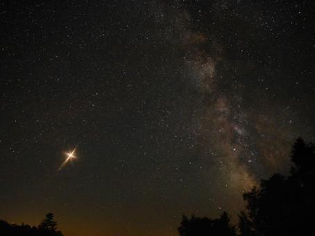 El cuerpo celeste que orbita sobre El Borrao se acerca a la tierra